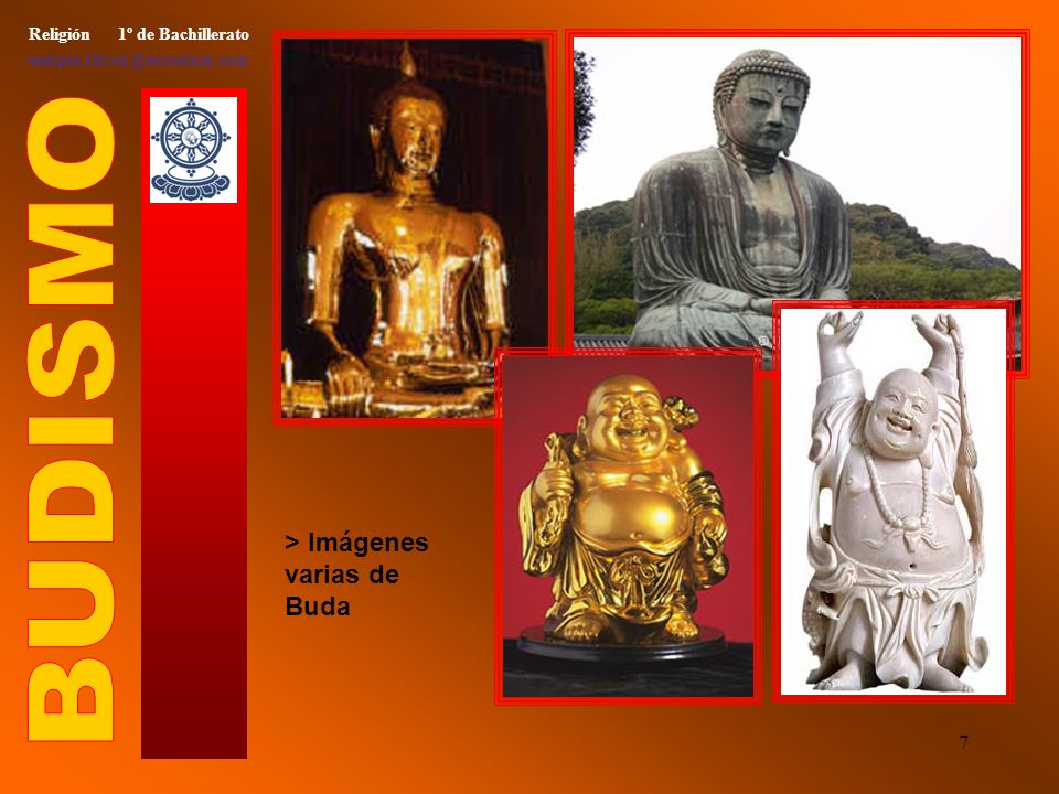 6 Religión 1º de Bachillerato enrique.falcon@escuelassj.com > Nirvana de Buda