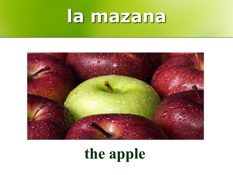 la mazana the apple