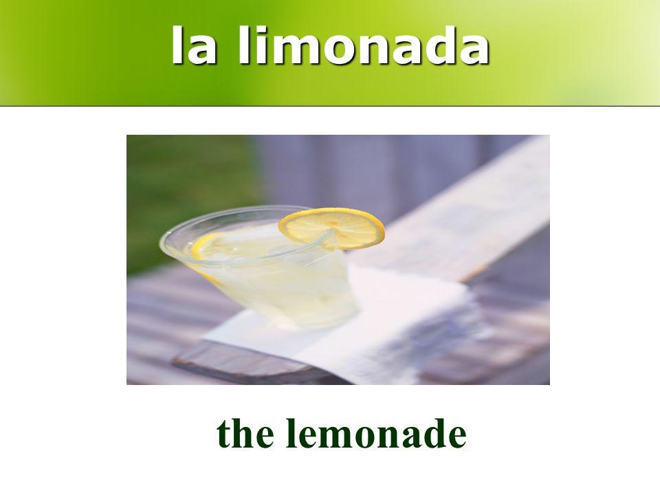 la limonada the lemonade