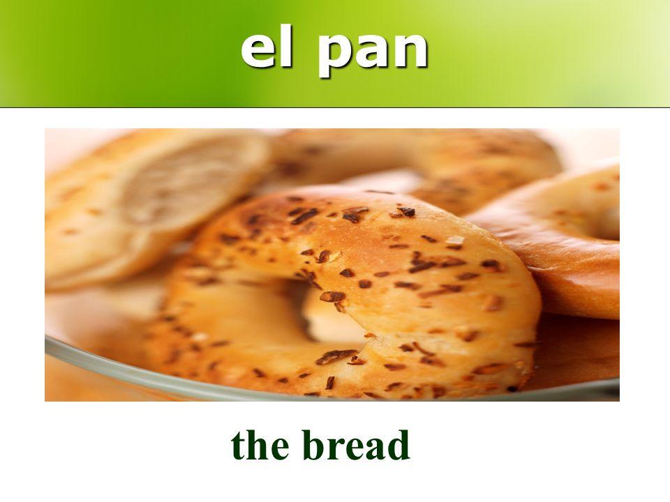 el pan the bread