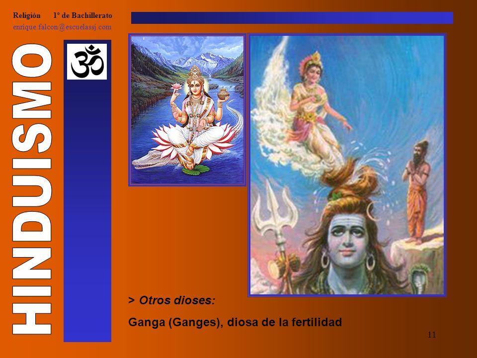 10 Religión 1º de Bachillerato enrique.falcon@escuelassj.com > Otros dioses: Ganesha, dios de la buena suerte