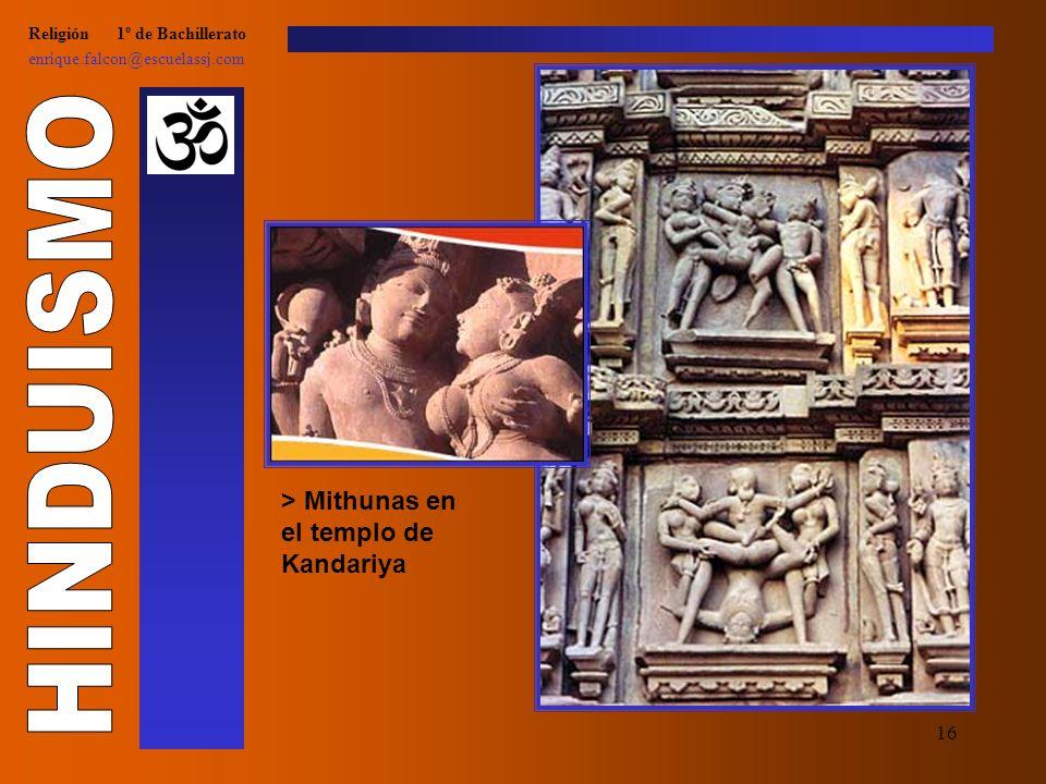 15 Religión 1º de Bachillerato enrique.falcon@escuelassj.com > Khrisna y Arjuna hablando sobre el ATMAN > Samsara (reencarnación)