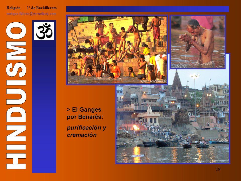 18 Religión 1º de Bachillerato enrique.falcon@escuelassj.com > Gandhi, alma grande