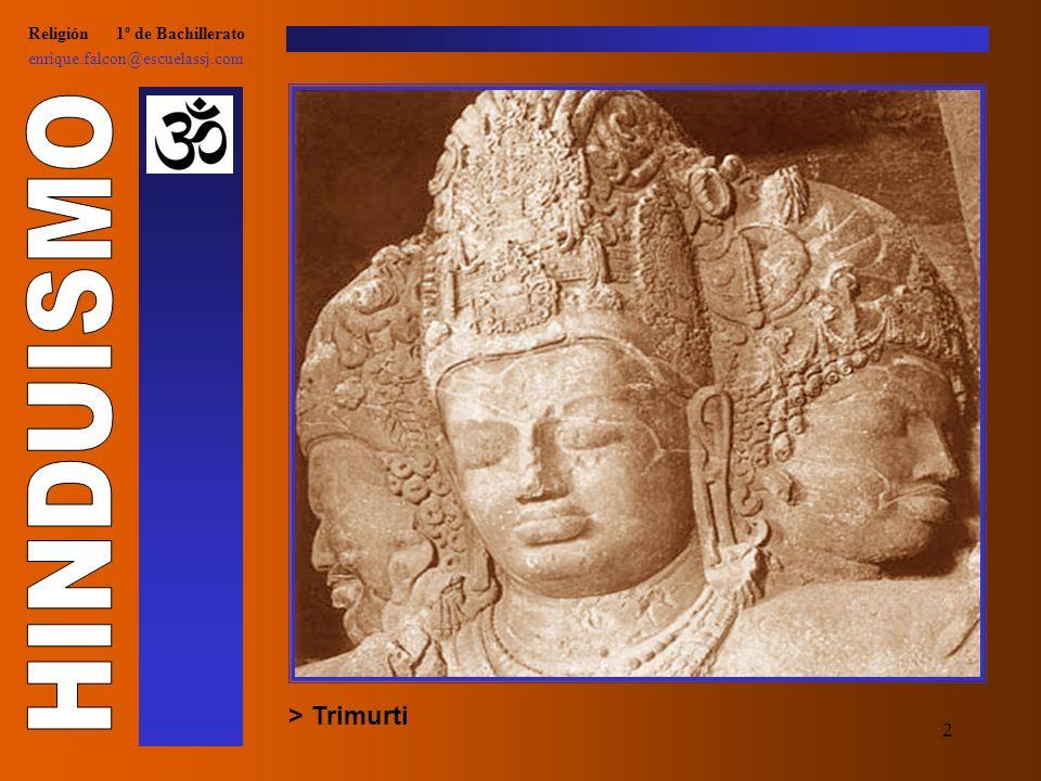 12 Religión 1º de Bachillerato enrique.falcon@escuelassj.com > Otros dioses: Kali, diosa de la muerte