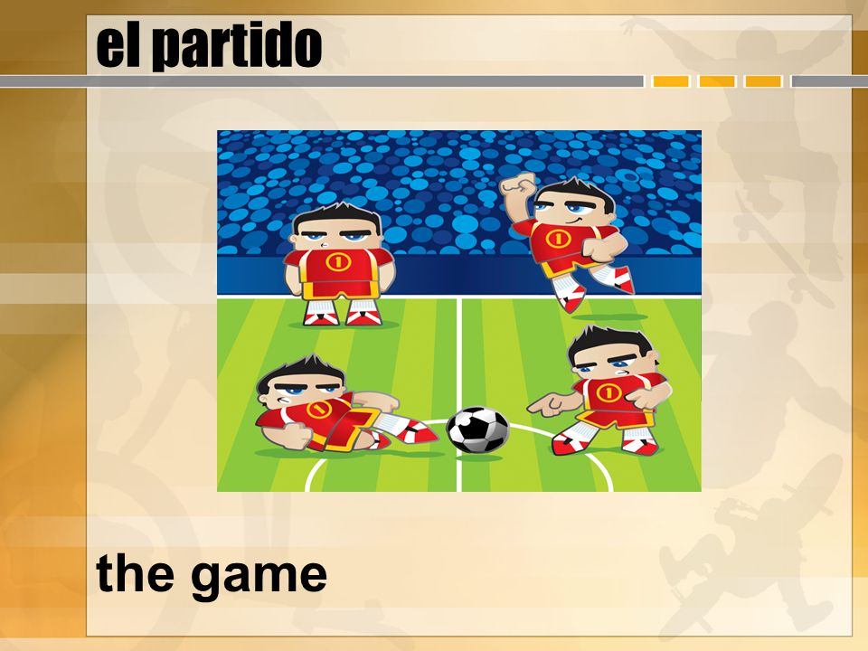el partido the game