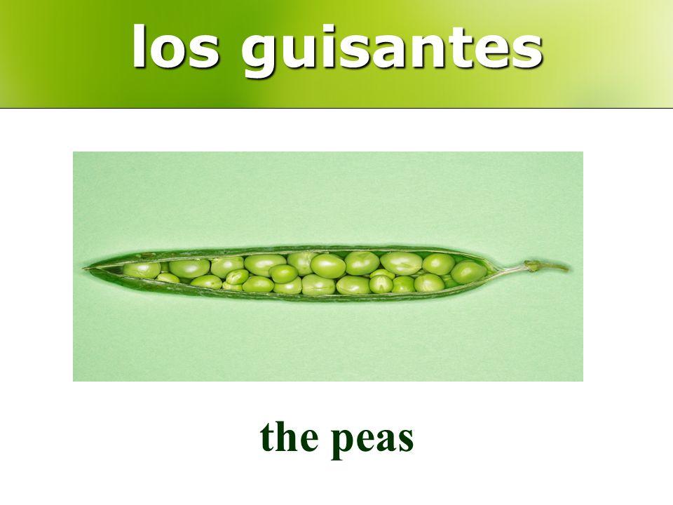 los guisantes the peas