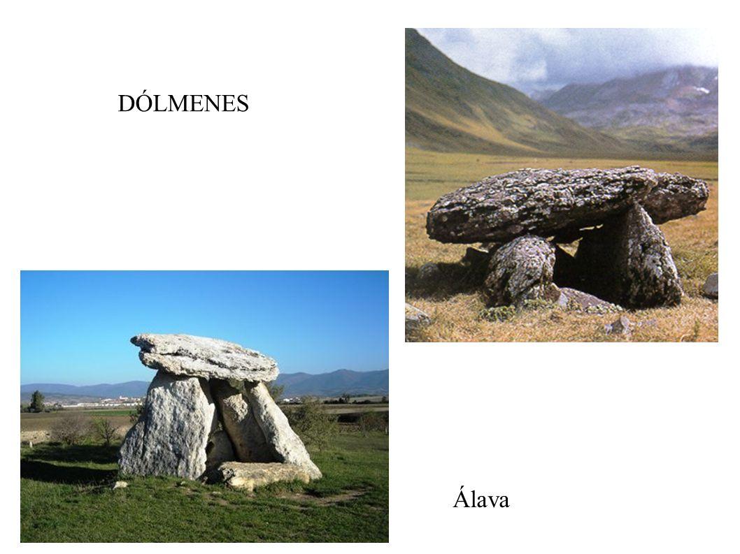 DÓLMENES Álava