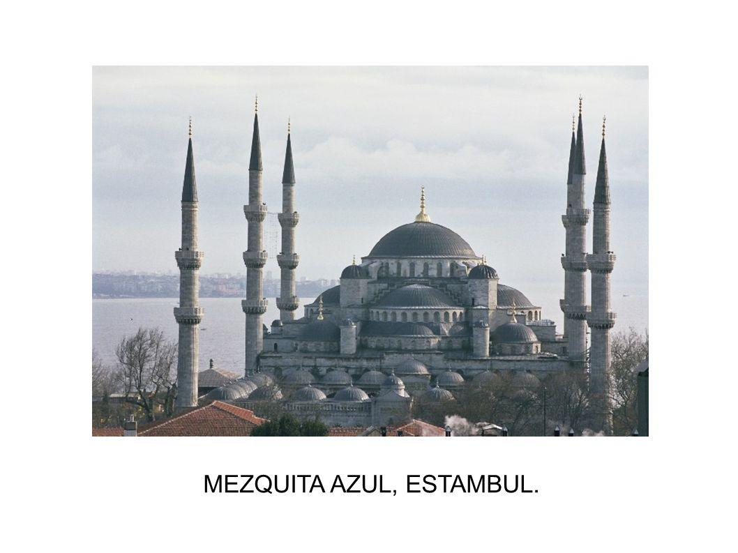 MEZQUITA AZUL, ESTAMBUL.