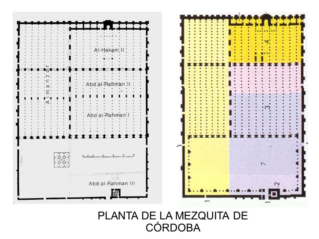 PLANTA DE LA MEZQUITA DE CÓRDOBA