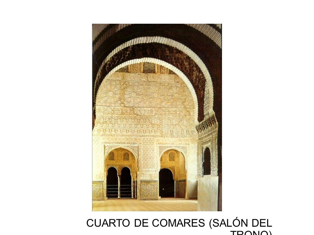 CUARTO DE COMARES (SALÓN DEL TRONO)