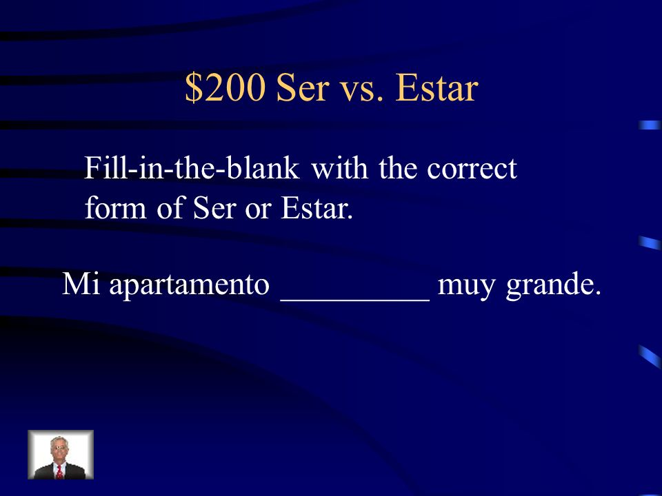 $100 Ser vs. Estar están