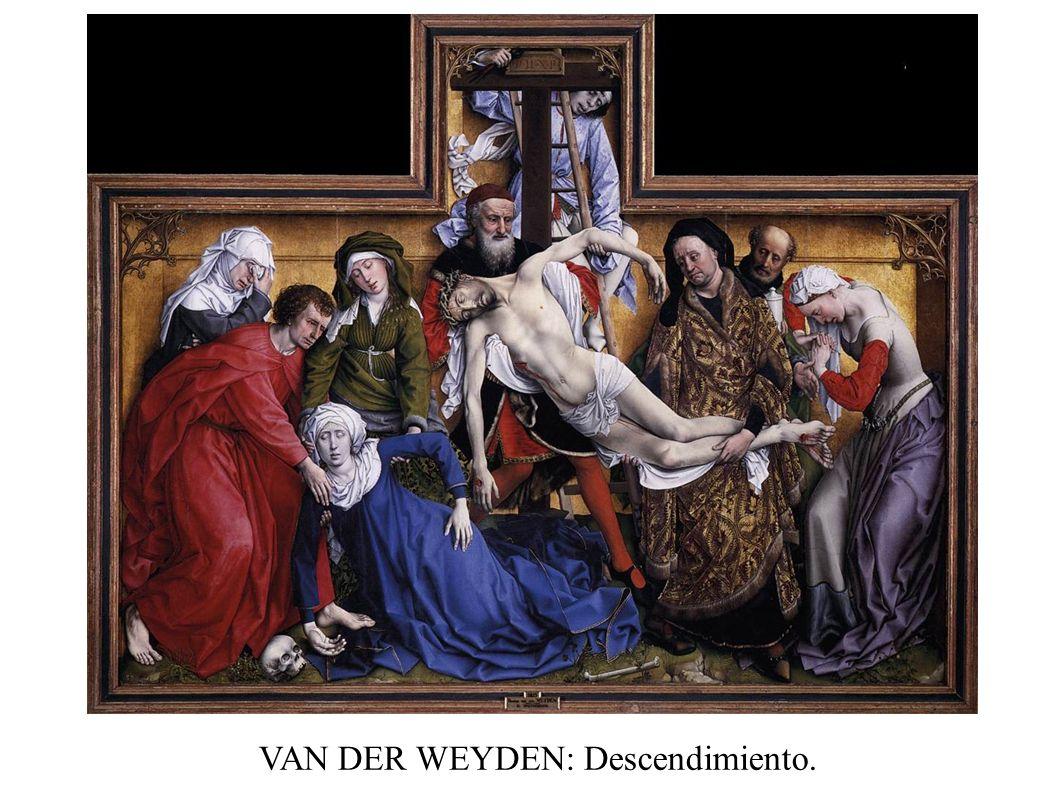 VAN DER WEYDEN: Descendimiento.