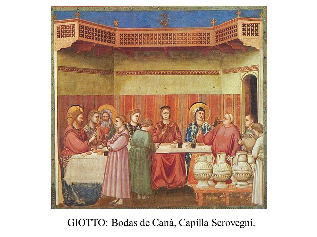 GIOTTO: Muerte de san Francisco de Asís, iglesia de Santa Croce (Florencia).