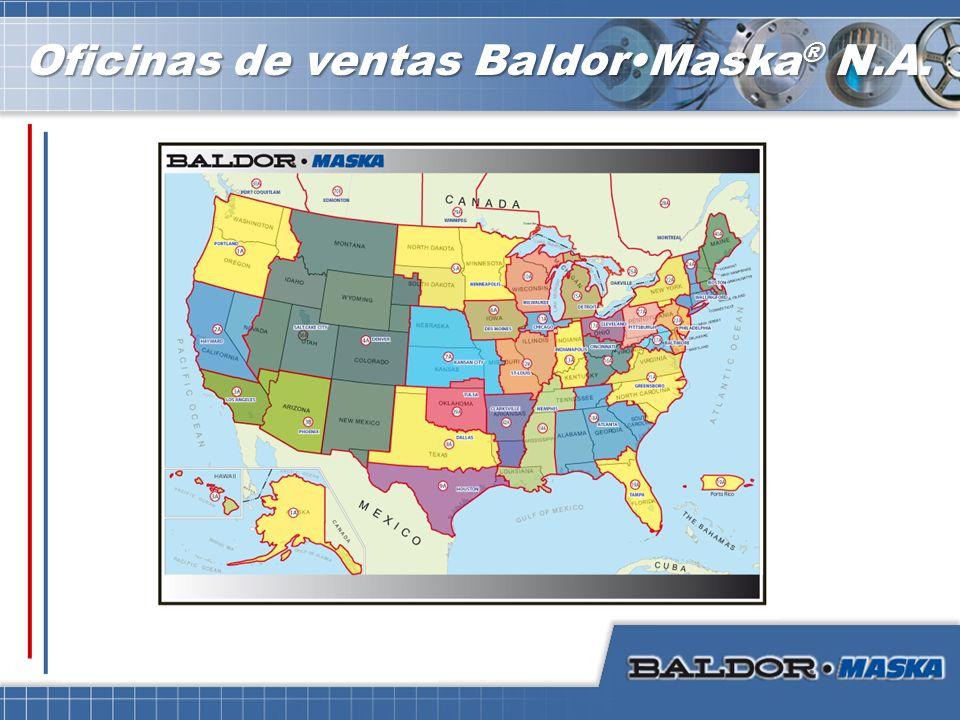Oficinas de ventas BaldorMaska ® N.A.