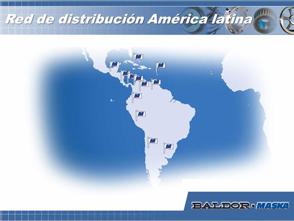 Red de distribución América latina