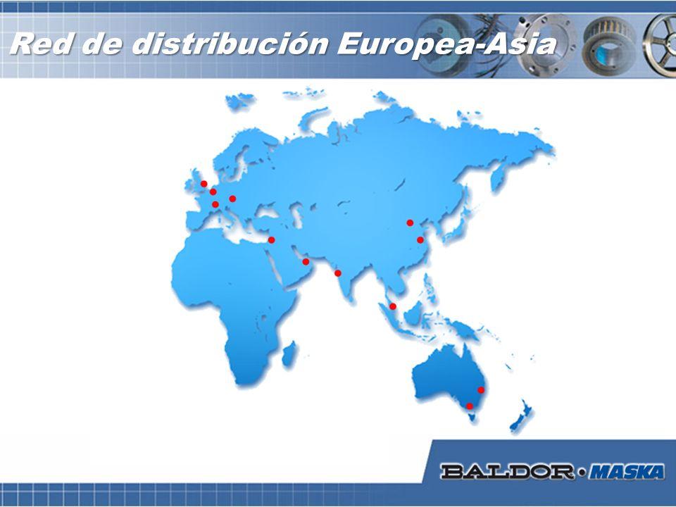 Red de distribución Europea-Asia