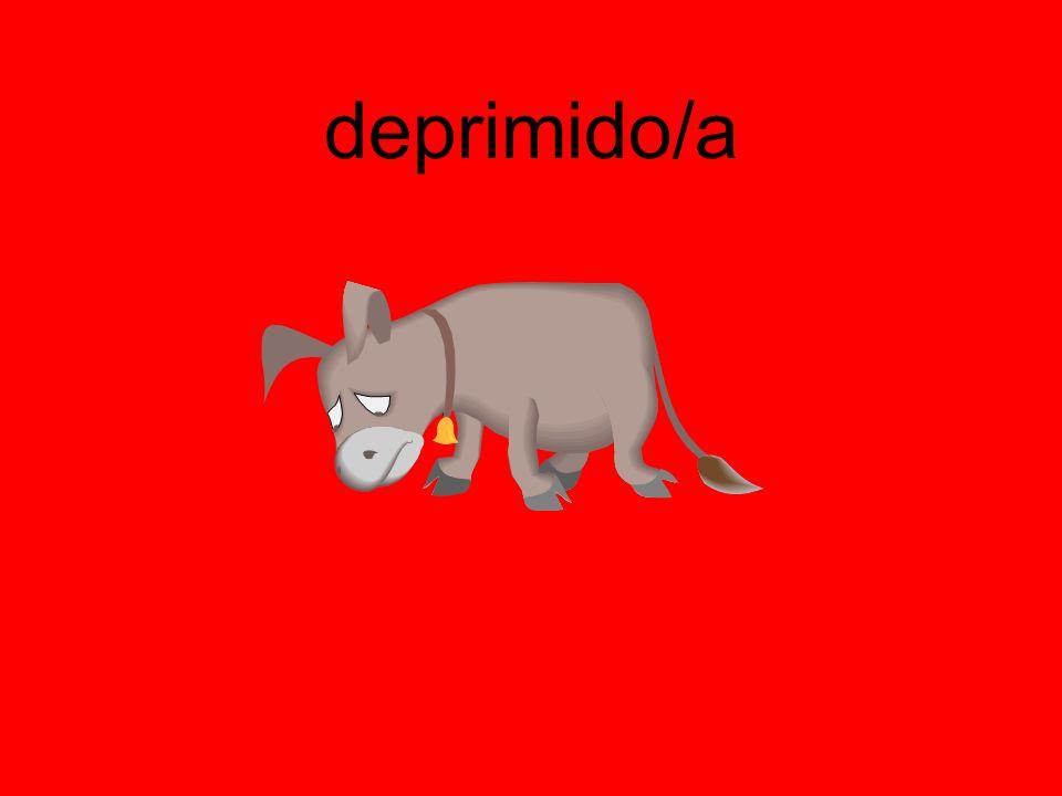 deprimido/a