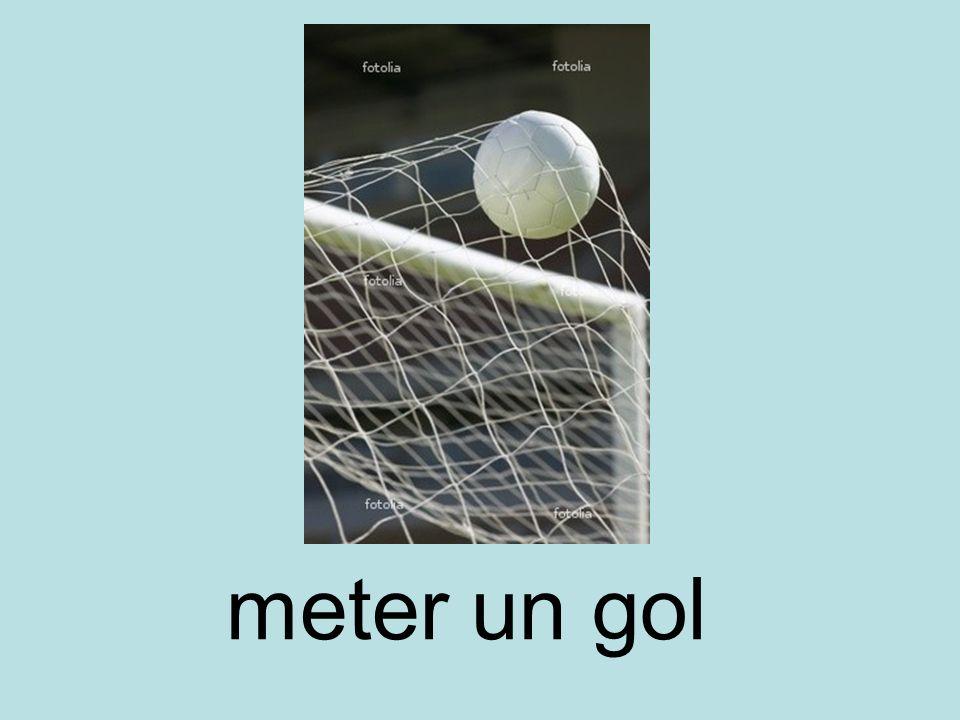 meter un gol