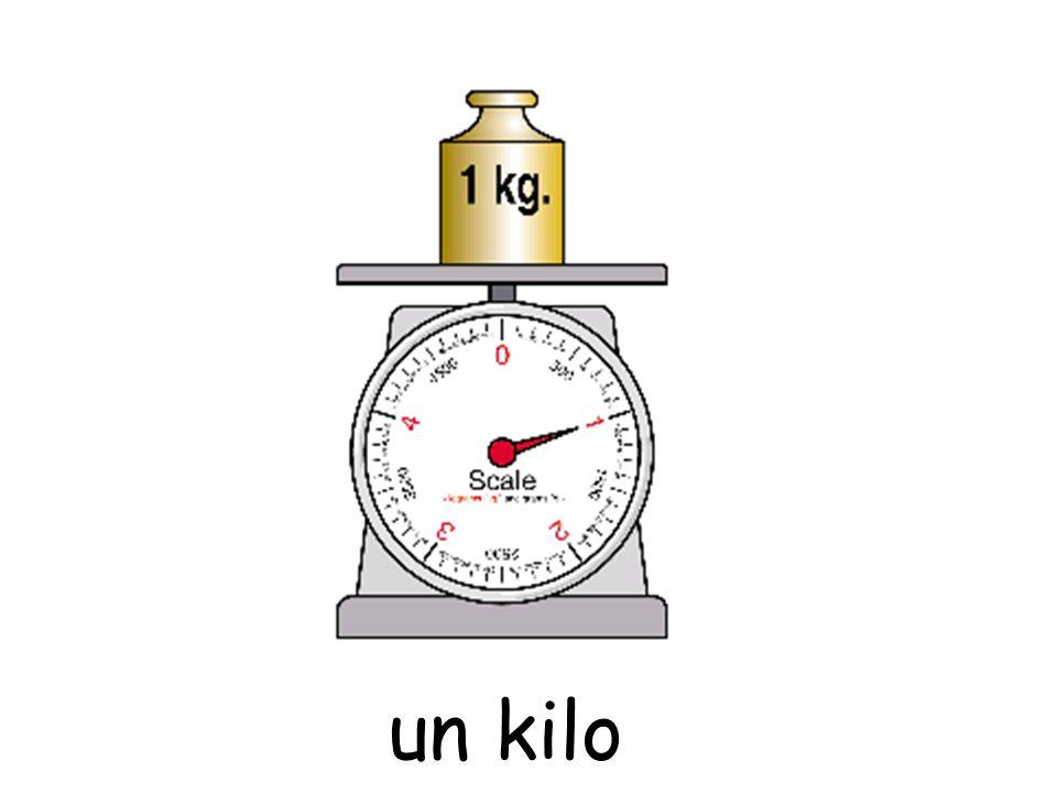 un kilo