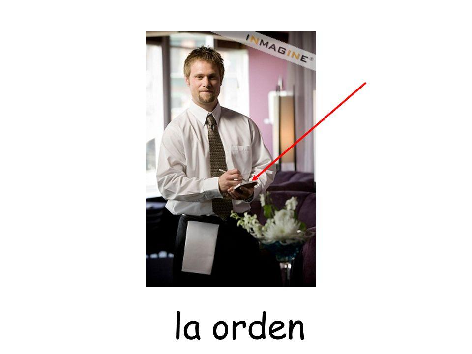 la orden