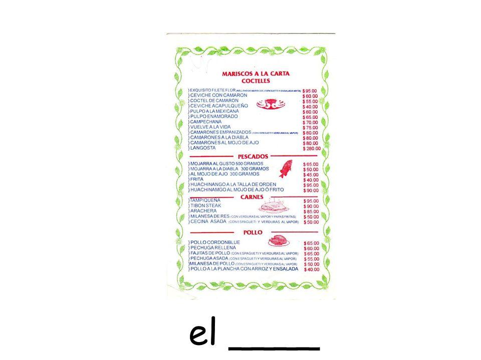 el ____