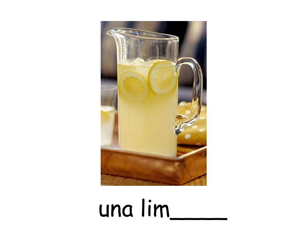 una lim____