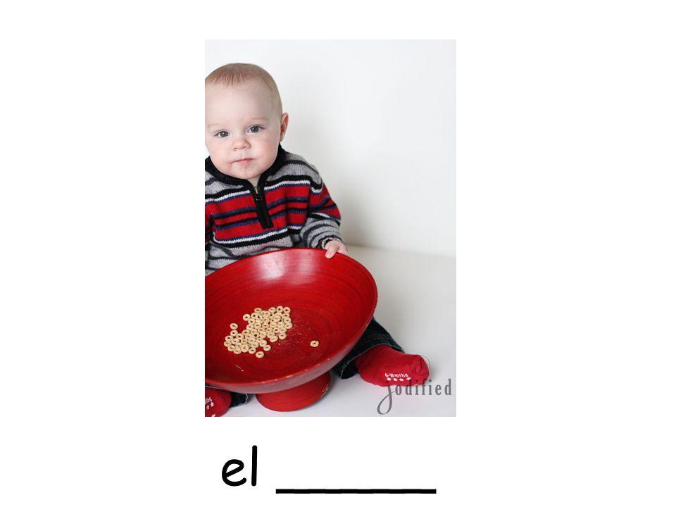 el _____