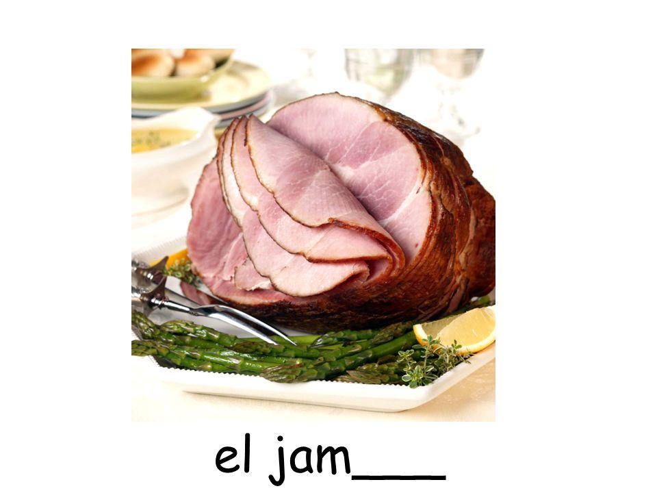 el jam___