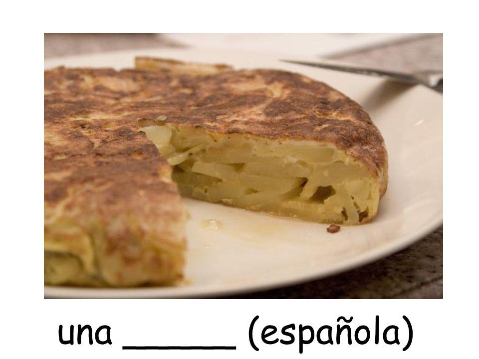 una _____ (española)