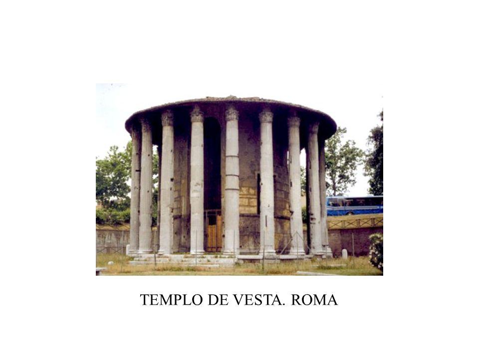 TEMPLO DE VESTA. ROMA