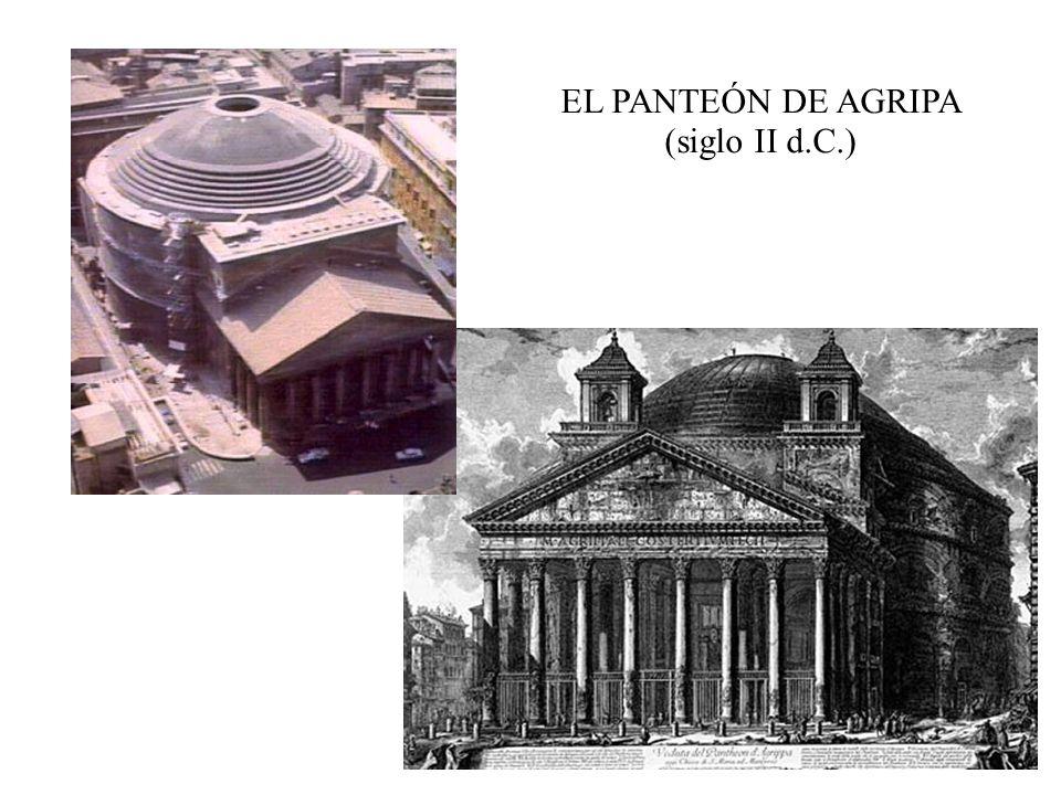 EL PANTEÓN DE AGRIPA (siglo II d.C.)