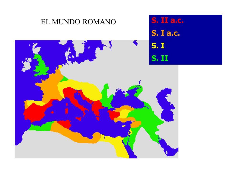 S. II a.c. S. I a.c. S. I S. II EL MUNDO ROMANO