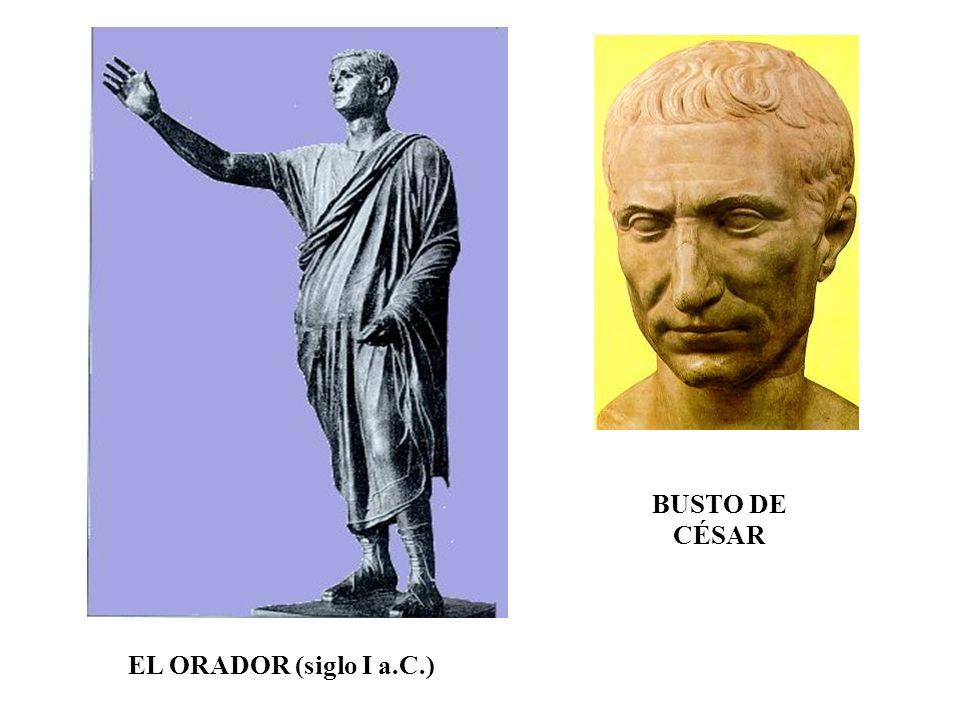 EL ORADOR (siglo I a.C.) BUSTO DE CÉSAR