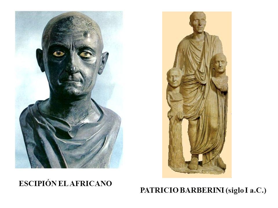 ESCIPIÓN EL AFRICANO PATRICIO BARBERINI (siglo I a.C.)