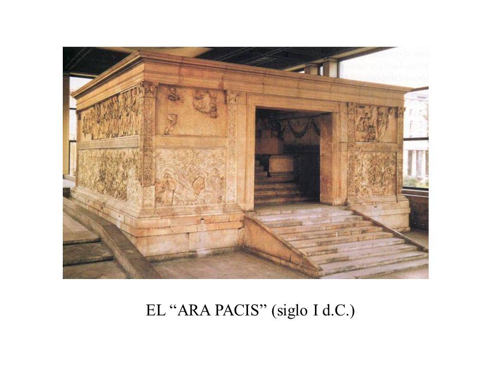 EL ARA PACIS (siglo I d.C.)