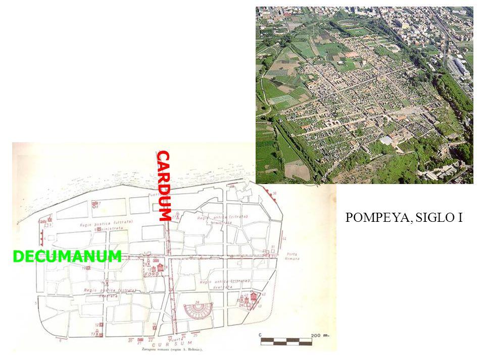 CARDUM DECUMANUM POMPEYA, SIGLO I