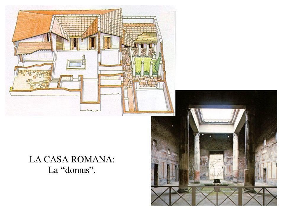 LA CASA ROMANA: La domus.