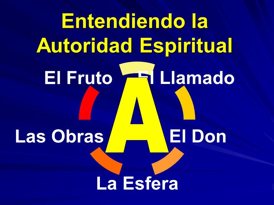 El Llamado El Don La Esfera Las Obras El Fruto Entendiendo la Autoridad Espiritual
