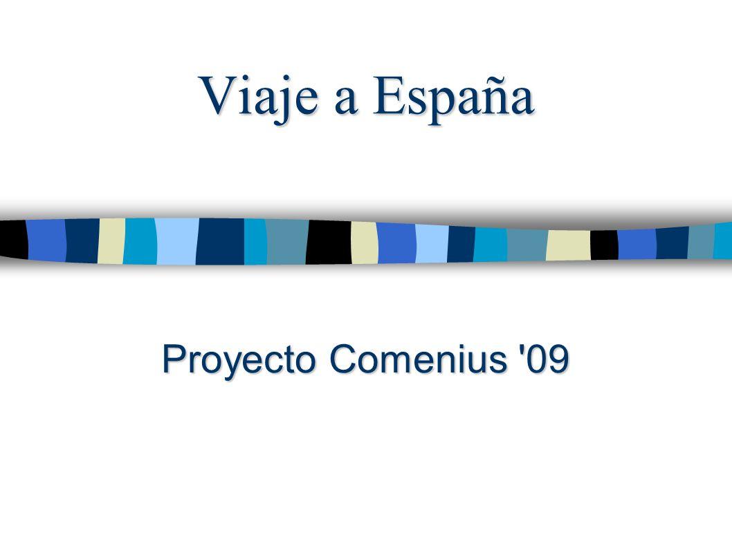 Viaje a España Proyecto Comenius 09