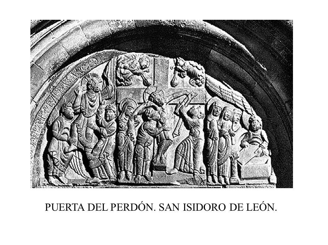 PUERTA DEL PERDÓN. SAN ISIDORO DE LEÓN.