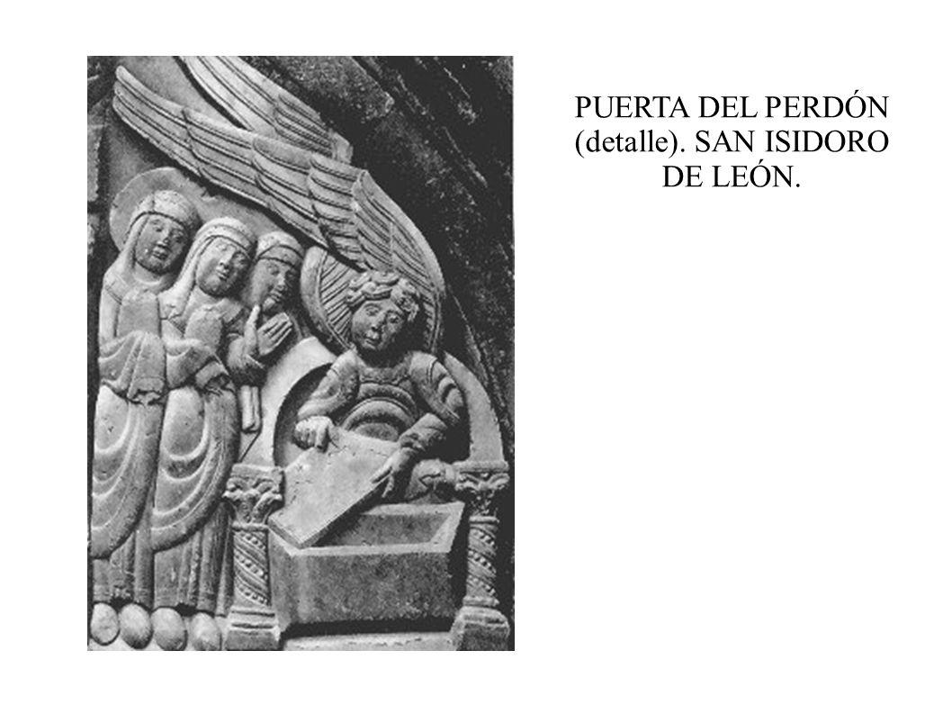 PUERTA DEL PERDÓN (detalle). SAN ISIDORO DE LEÓN.