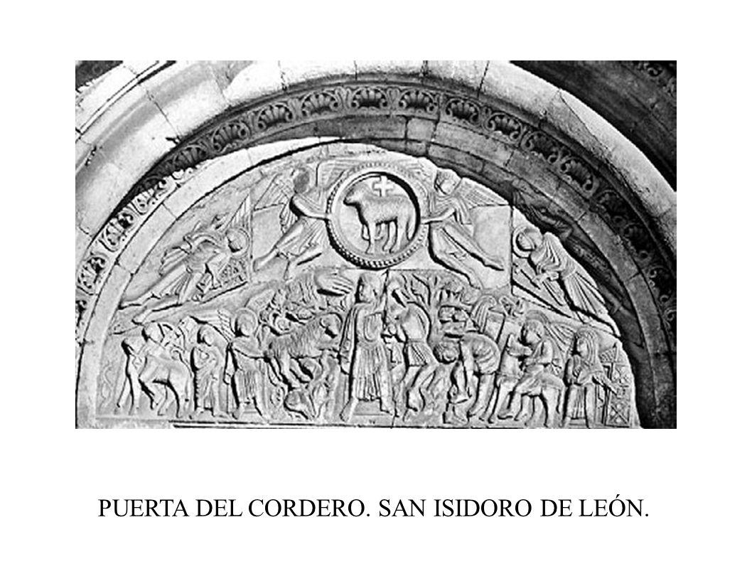 PUERTA DEL CORDERO. SAN ISIDORO DE LEÓN.