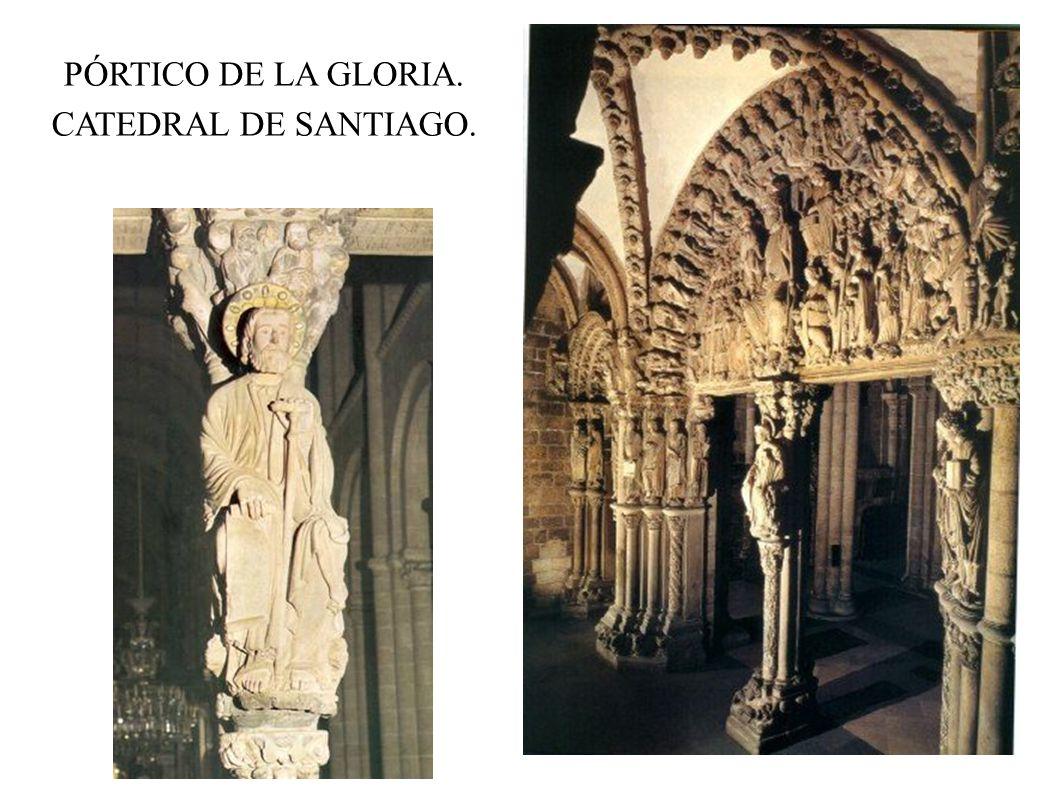 PÓRTICO DE LA GLORIA. CATEDRAL DE SANTIAGO.