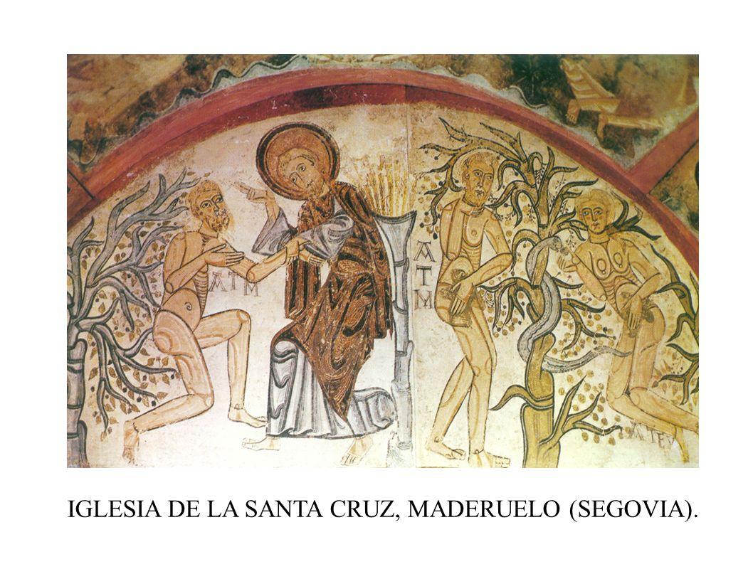 IGLESIA DE LA SANTA CRUZ, MADERUELO (SEGOVIA).