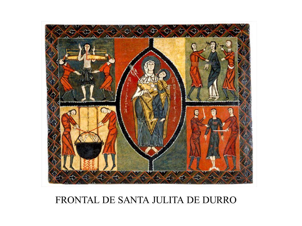 FRONTAL DE SANTA JULITA DE DURRO