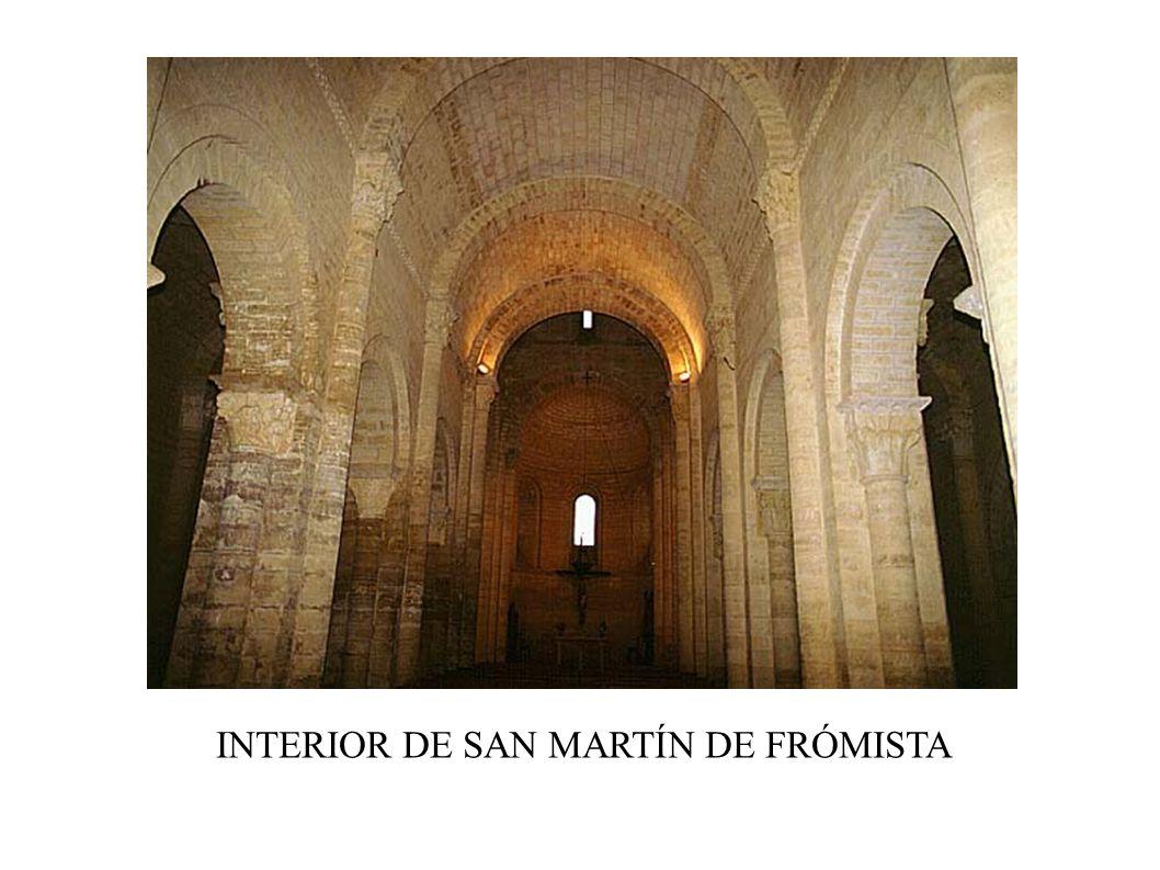 INTERIOR DE SAN MARTÍN DE FRÓMISTA