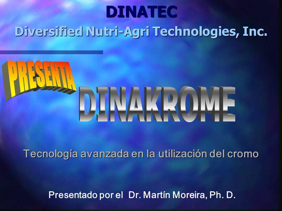 DINATEC Diversified Nutri-Agri Technologies, Inc.Presentado por el Dr.