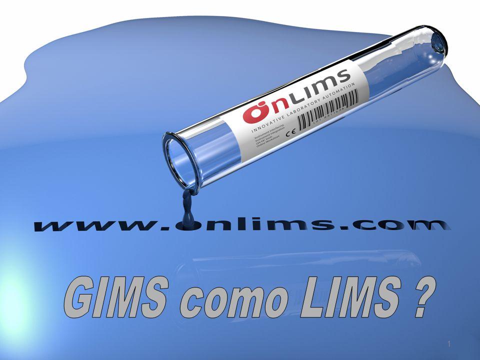 www.onlims.com 2 ABSTRACTO GIMS como LIMS . o integración de instrumentos con acQuire.