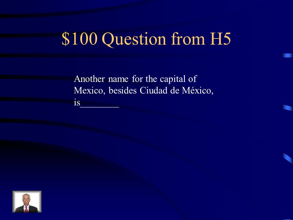 $500 Answer from H4 Está, está, están, están