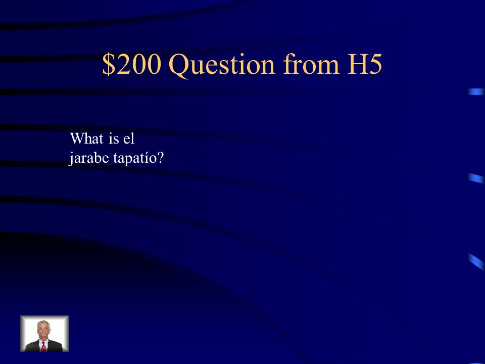 $100 Answer from H5 El Distrito Federal